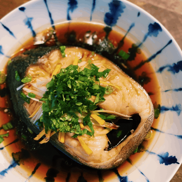 Authentic Chinese Steamed Fish
