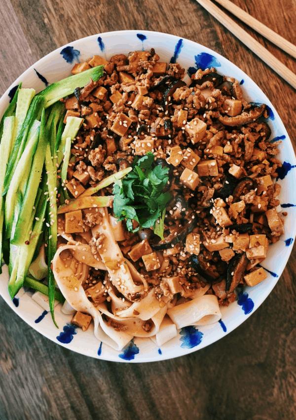 """""""Fried Sauce"""" Noodle – Zha Jiang Mian"""