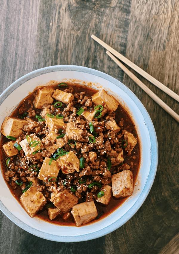 Mapo Tofu – Spicy Pork & Tofu Stew