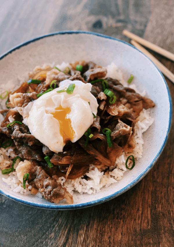 Beef Rice Bowl – Gyudon