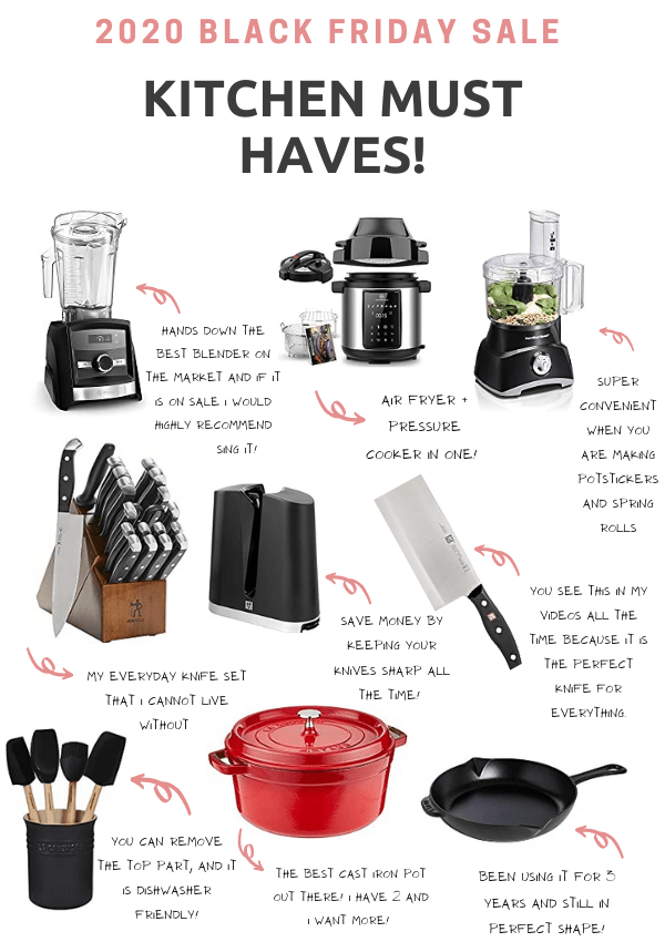 2020 BLACK FRIDAY SALE WATCH LIST (Kitchen Tools, Gadgets, Knives, and Beauty!)