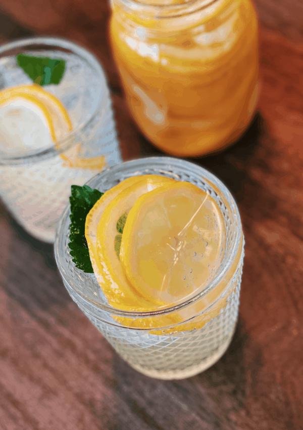 Lemon Honey Syrup