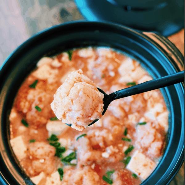 Shrimp Ball Stew