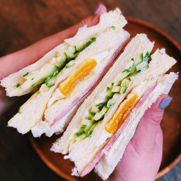 Taiwanese Breakfast Sandwich