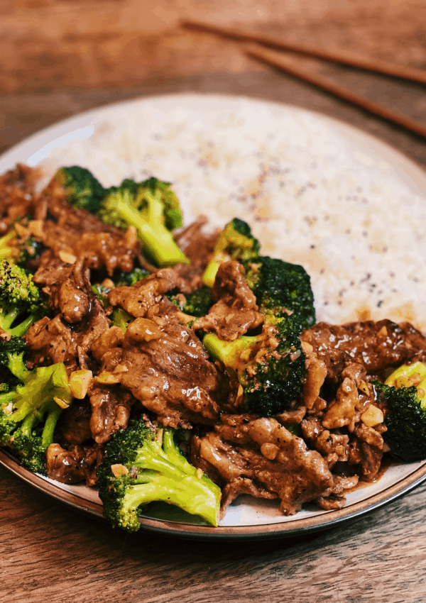 The BEST Black Pepper Beef and Broccoli (Tender Beef)