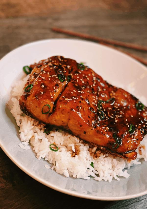 Spicy Honey Glazed Salmon (Perfect Salmon Every Time!)