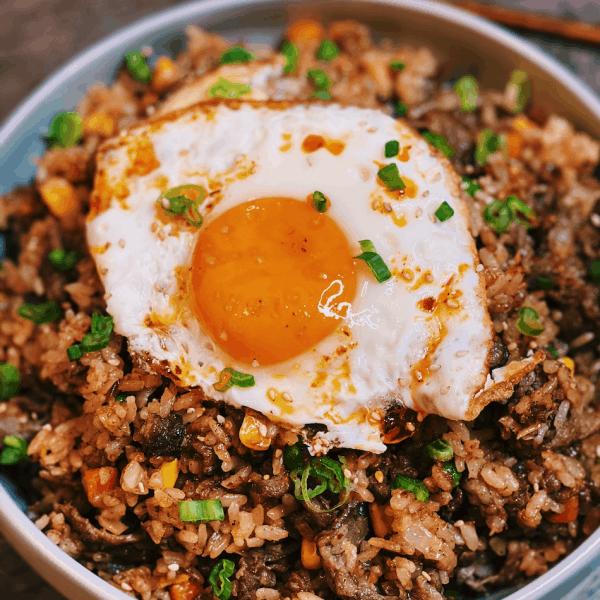 Beef Shacha Fried Rice