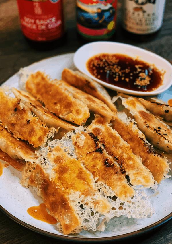Crispy Taiwanese Potstickers