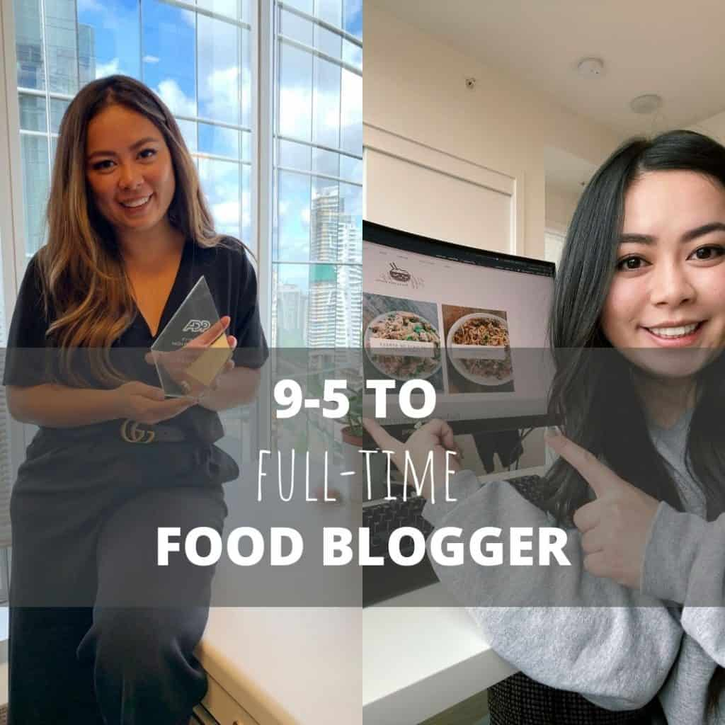 FROM A 9-5 TO FULL TIME BLOGGER