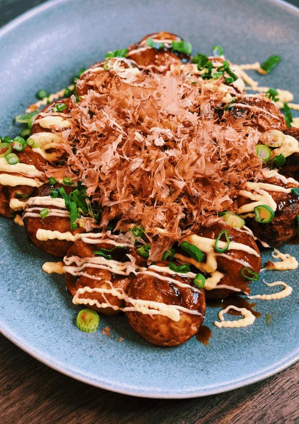 Takoyaki – Japanese Fried Octopus Balls