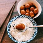 Korean Marinated Quail Eggs
