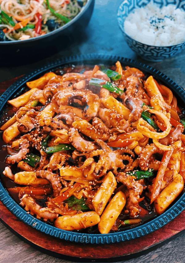 Korean Spicy Octopus