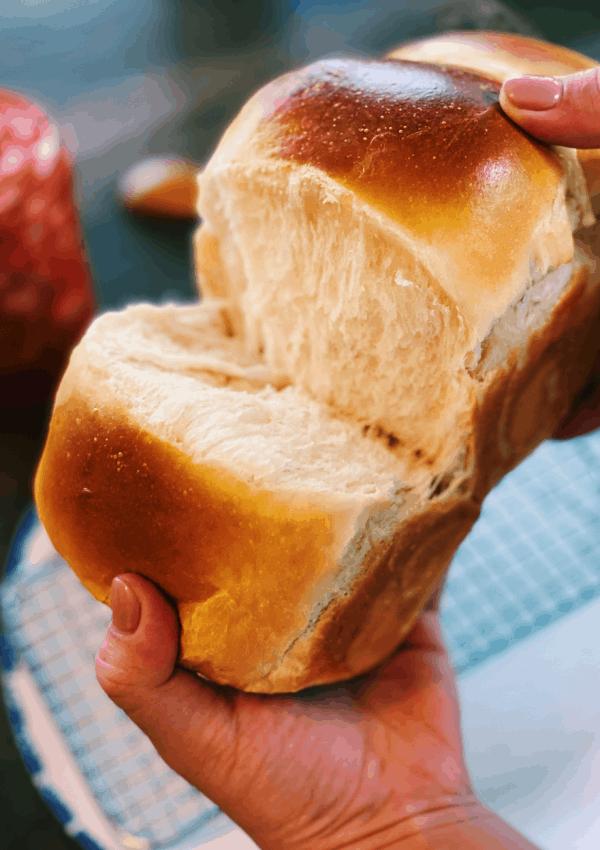 Milk Bread- Extra Fluffy (No Machine Needed!)