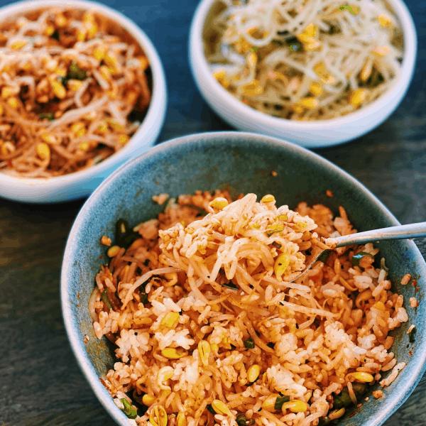 Korean Bean Sprout Side Dish