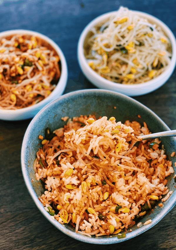 Korean Bean Sprout Side Dish – Kongnamul Muchim