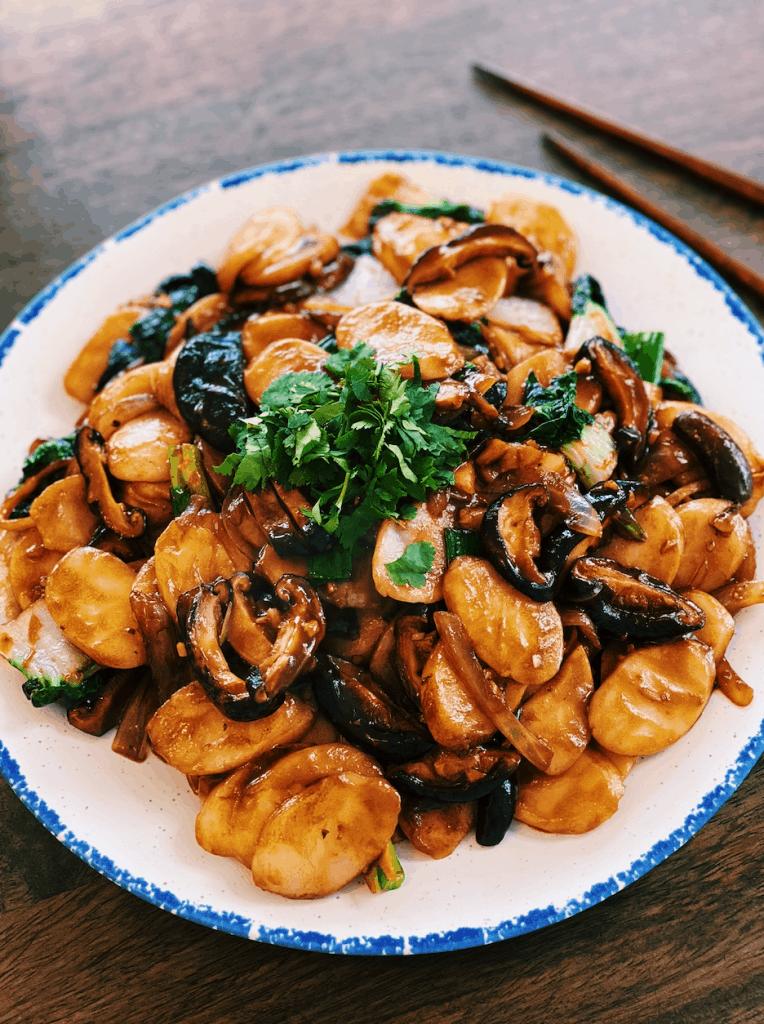 Stir-fried Rice Cakes