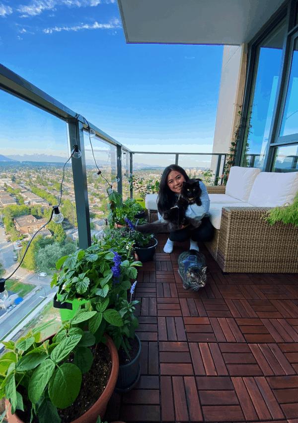 Balcony Garden – Sustainable garden in a small space