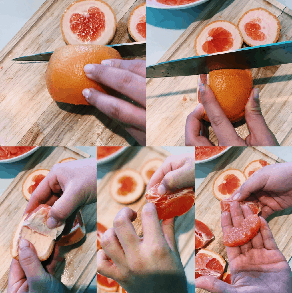Grapefruit Syrup (2 Ingredients ONLY!)