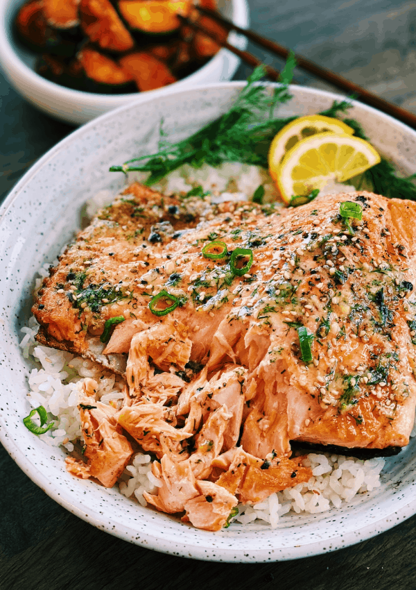 Salmon with Miso Butter (20 Minutes)