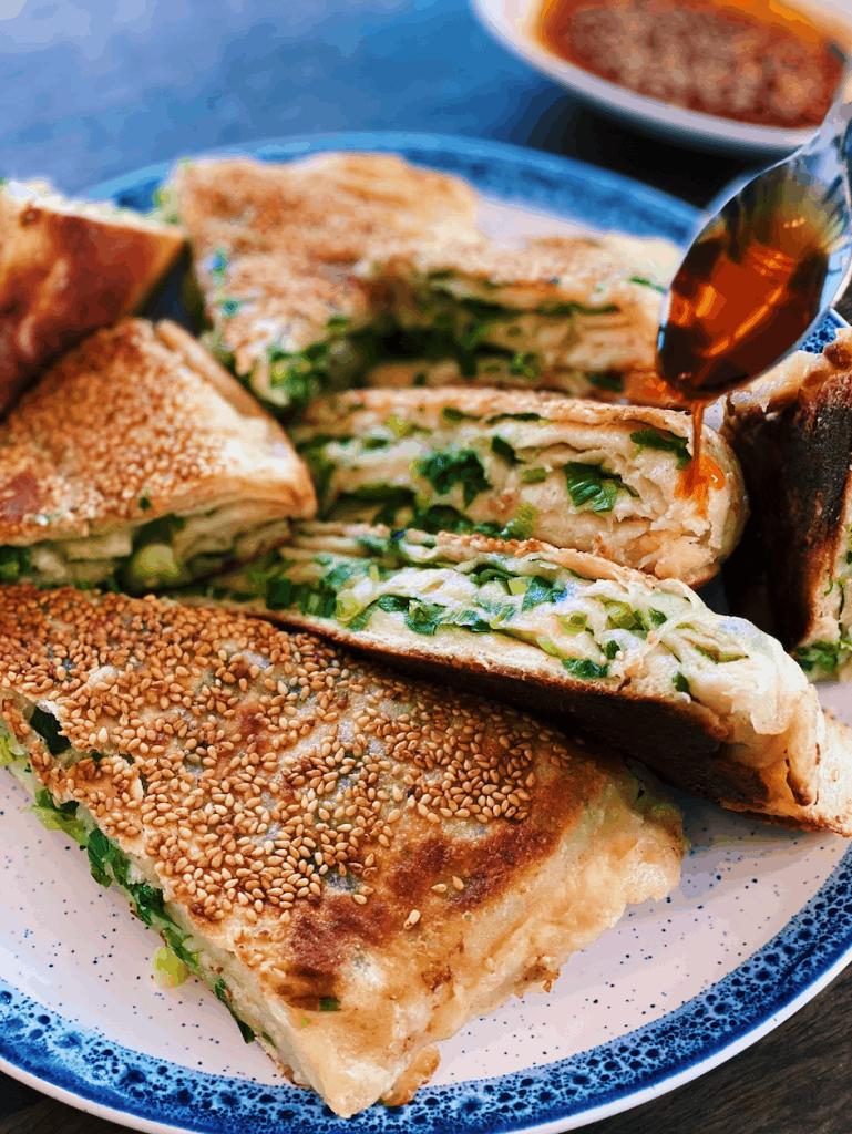 Big Green Onion Pancake
