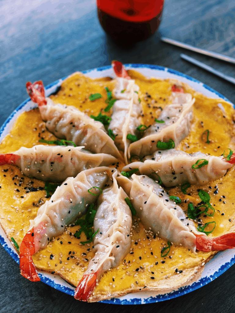 Whole Shrimp Potsticker