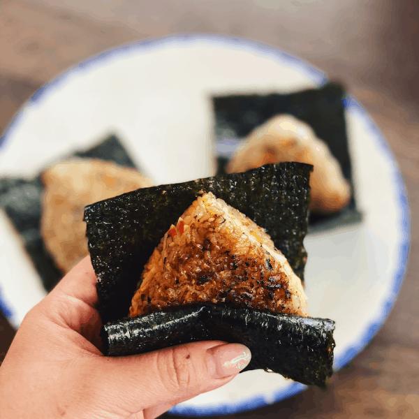 Creamy Crab Onigiri