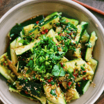 Spicy Smashed Cucumber Salad