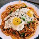 Creamy Kimchi Udon